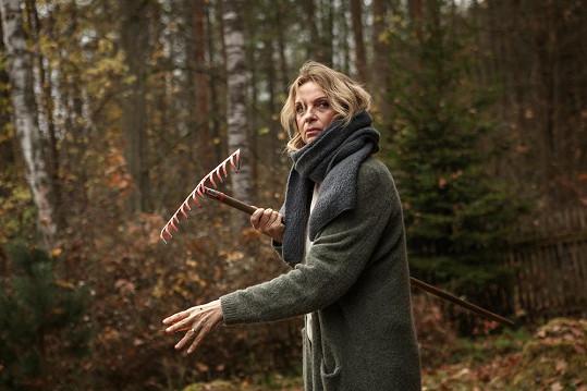 Ivana Chýlková ve filmu Chata na prodej