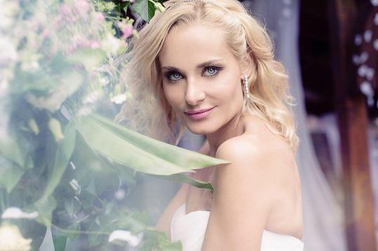 Nevěsta vypadala jako víla.