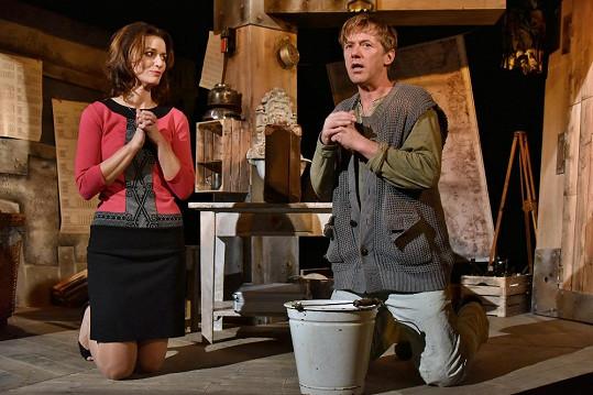 Gondíková s Langmajerem spolu v divadle nehrají poprvé.