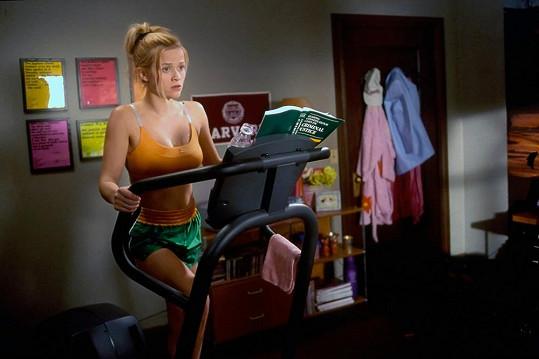 Reese byla v komedii Pravá blondýnka jako proutek.