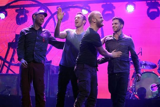 Chris Martin s kapelou Coldplay