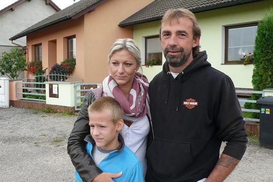 Dominiky manžel Luboš litoval, že Mirkovi nenaložil víc.