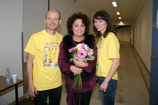 Na akci zazpívala i Jitka Zelenková.