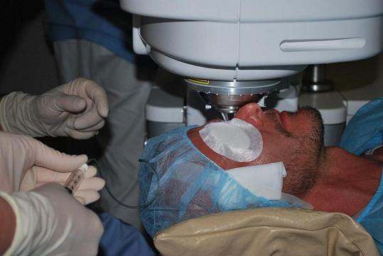 Průběh operace