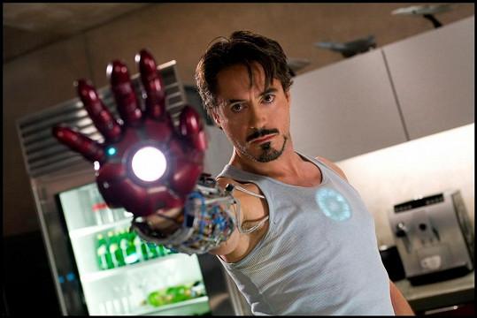 Jako Iron Man se v kinech objevil už čtyřikrát.