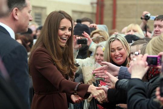 Catherine nejspíš nerada odtajnila pohlaví očekávaného královského potomka.