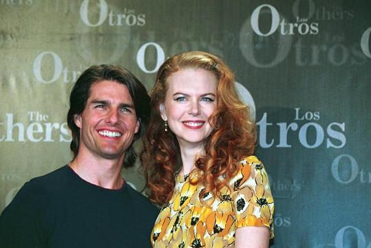 Tom Cruise a Nicole Kidman tvořili krásný pár.