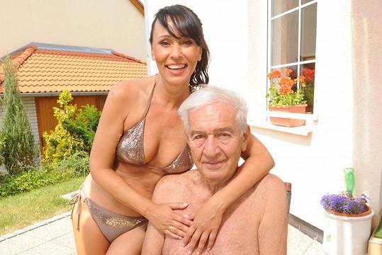 Heidi s manželem Ivo Pavlíkem