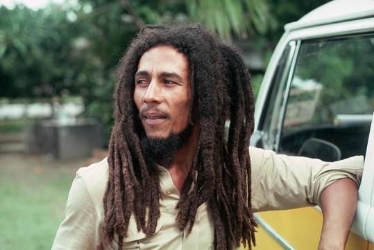 Nejslavnější představitel reggae Bob Marley.