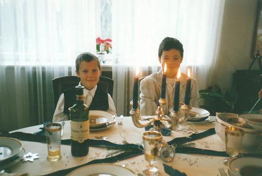 Martin Chobot a Filip Sázavský se znají už od dětství.