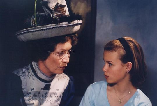 V pohádce Zakletá třináctka se potkala s Hanou Maciuchovou.