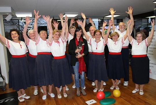 Tereza se zapojila do projektu Maratonem proti roztroušené skleróze. Jedná se o 24hodinový kruhový trénink v posilovně, který probíhal po celé České republice a byl propojený pomocí telemostů.