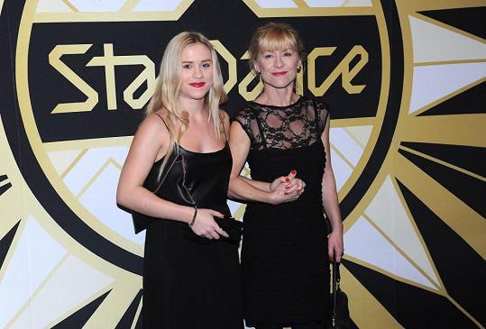 Mariana Prachařová si společně s maminkou Danou Batulkovou nenechala ujít finále StarDance.