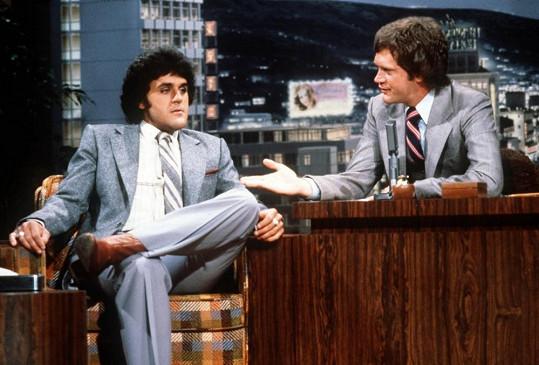 Leno si v minulosti pozval svého konkurenta Davida Lettermanna a prohodil si s ním role...