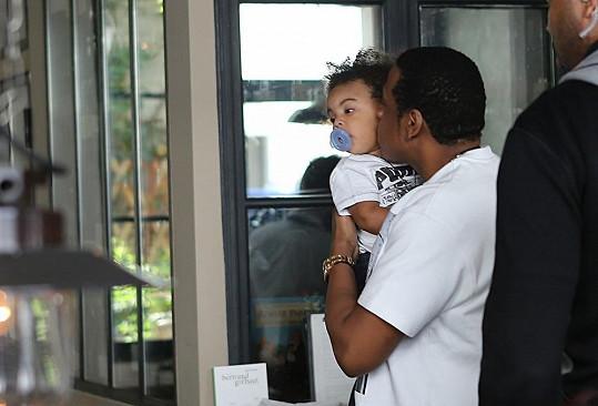 Rapper je pyšným otcem.