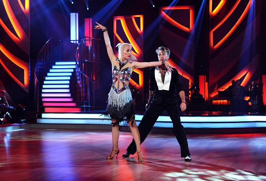 Anna Polívková bude dnes tančit cha-chu.