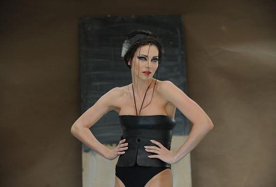 Andrea Verešová má dokonalé tělo.