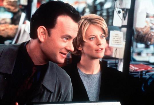 Meg Ryan a Tom Hanks si zahráli i v Lásce přes internet.