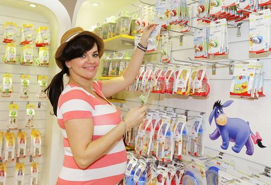 Marta Jandová v těhotenství nabrala 13 kilogramů.