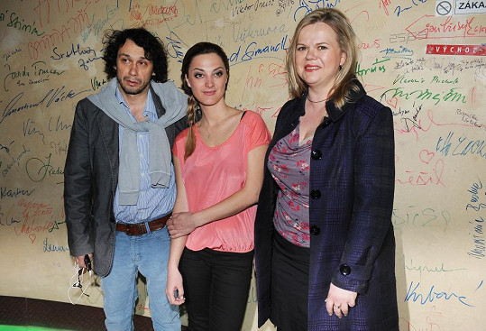 Pavel Liška s Bárou Polákovou a Sabinou Remundovou představili nový sitcom.