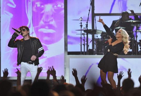 Zpěvačka vystoupila na Billboard Music Awards v Las Vegas.