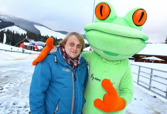 Na snowboardu ho prý nikdy neuvidíme, ten je prý doménou Vojty Kotka.