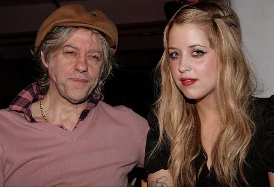 Peaches s otcem Bobem Geldofem