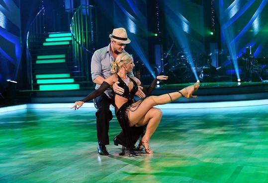 Ondřej s Evou tančili s opravdovým nasazením.