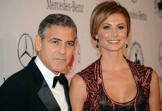 Stacey Keibler s Georgem Clooneym