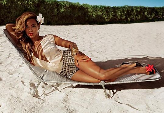 Beyoncé v nové kampani.