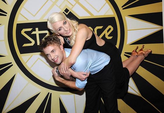 Také Anna Polívková a Michal Kurtiš se do sebe zamilovali ve StarDance. Soutěž také společně vyhráli.