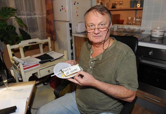 Jiří Adamec už nechce zabíjet seriálové postavy.