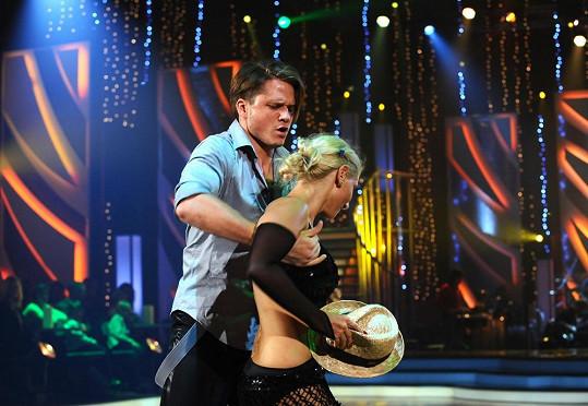 V soutěži tančil i přítel Táni Kuchařové Ondřej Brzobohatý.