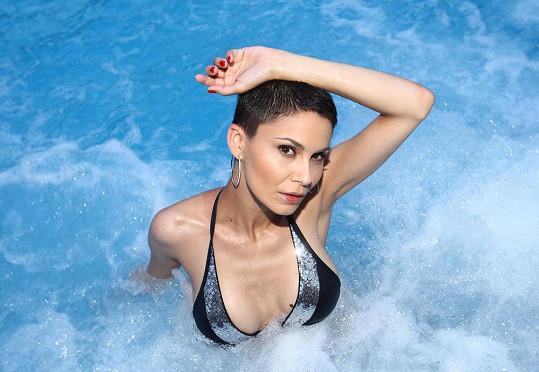 Vlaďka si jela s kamarádkou odpočinout do aquaparku nedaleko Liptovského Mikuláše, kde vyzkoušela také bazén s mořskou vodou.