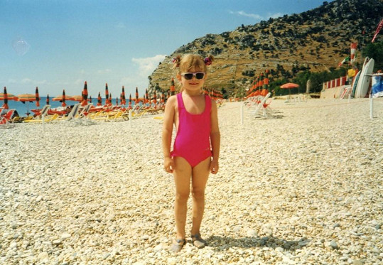 Gabriela Franková byla už jako malá rozenou modelkou.