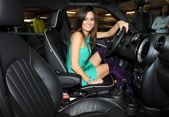 Petra Faltýnová dostala auto za milión.