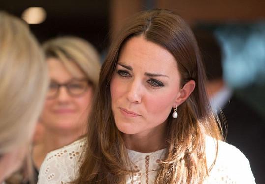 Kate s Williamem nesli návštěvu dětského hospicu těžce.