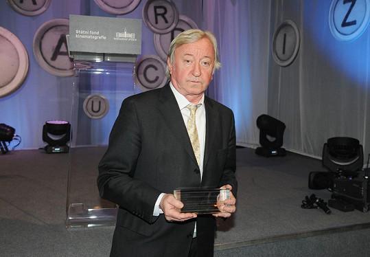 Jiří Lábus dostal cenu za nejlepší mužský herecký výkon ve vedlejší roli.