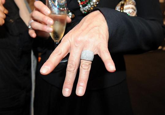 Detail prstenu