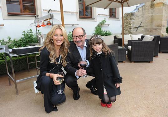 Zapózovala s rozkošnou dcerou fotografa Jadrana Šetlíka.