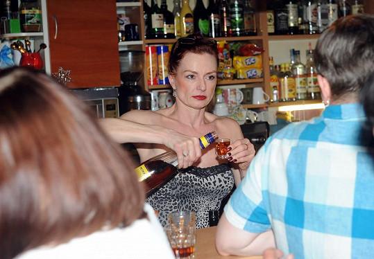 Marcela Karleszová na výročním představení muzikálu Mata Hari