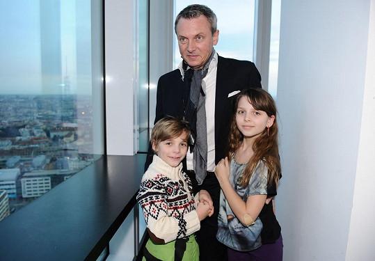 Vratislav Janda má krásné děti.