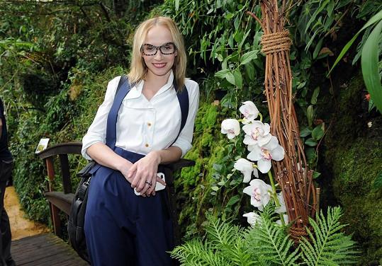 Jana Plodková nosí dioptrické brýle od doby, kdy začala chodit s optikem Filipem Žilkou.