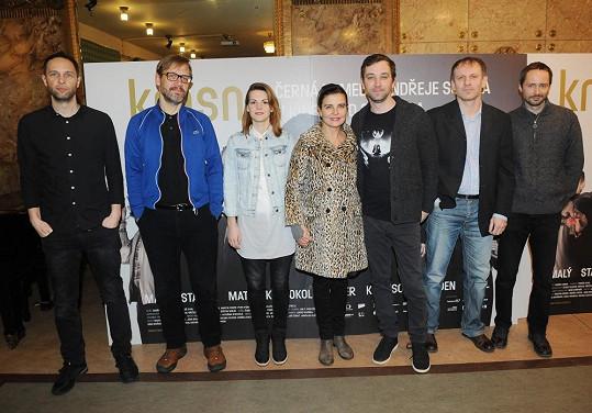 Předpremiéra filmu Krásno v kině Lucerna