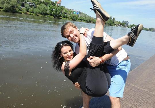 Markéta Procházková měla pro jistotu pod oblečením plavky.