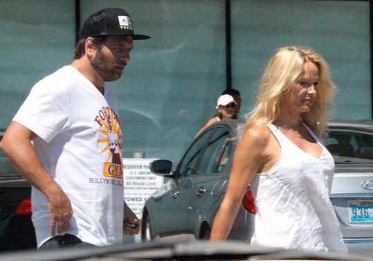 Pamela s Rickem Salomonem