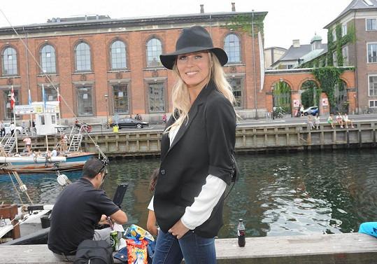 Modelka v Kodani.