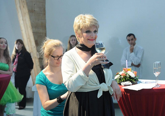 Regina Rázlová hraje ve filmu Modelky s.r.o.