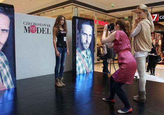 Už po prvním castingu má Simona několik tipů na nové hvězdy modelingu.