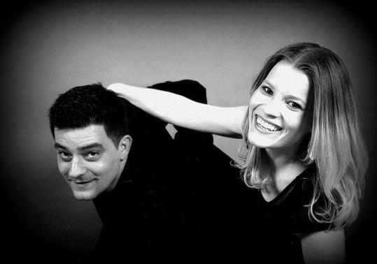 Michaela Gemrotová s přítelem Sašou Kopkou